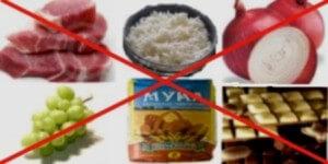 какие продукты нельзя при диабете?